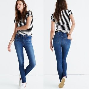"Madewell 9"" High Rise Tencel Skinny Jeans 27"